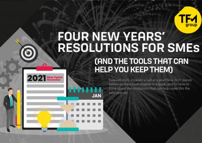 Four New Years' Resolutions for SMEs (and the Tools That Can Help You Keep Them)