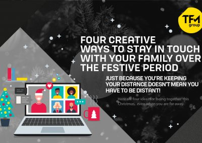 Four Creative Ways to Stay in Touch with your Family Over the Festive Period