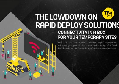 The Lowdown on Rapid Deploy Solutions: Connectivity in a Box for your Temporary Sites