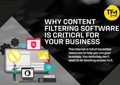 Why Content Filtering Software is Critical for Your Business